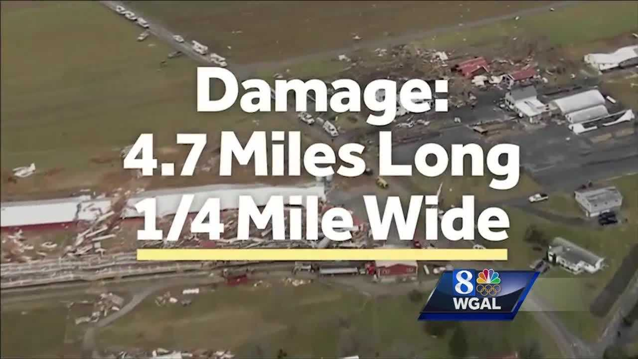 Tornado in Lancaster: By the numbers