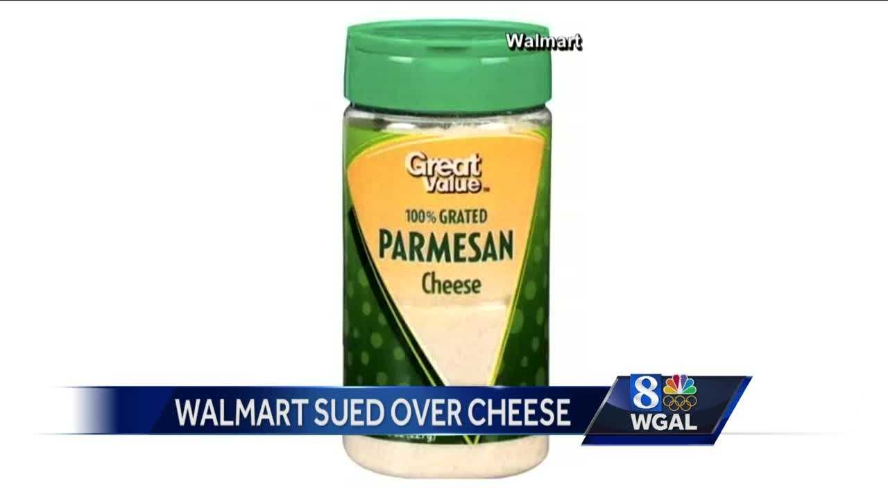 Walmart sued over parmesan cheese
