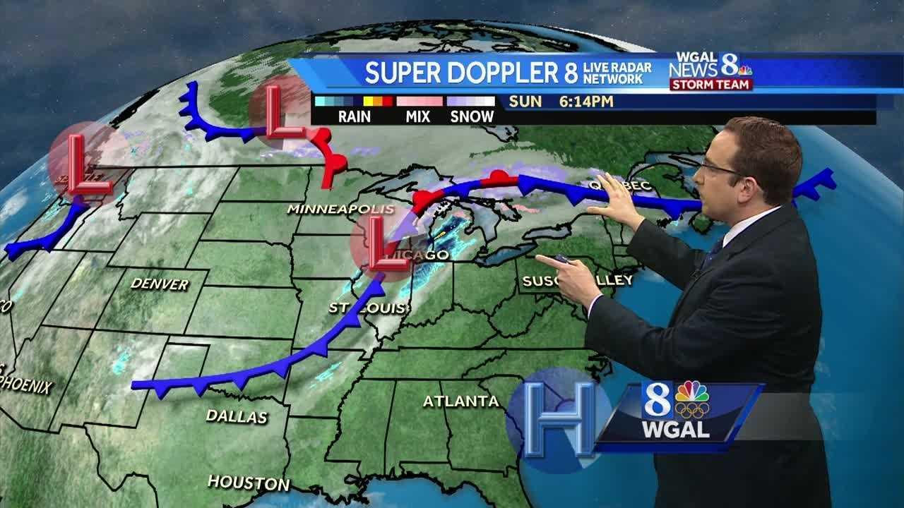 Chances For Scattered Showers Return Tomorrow Morning, Still Mild