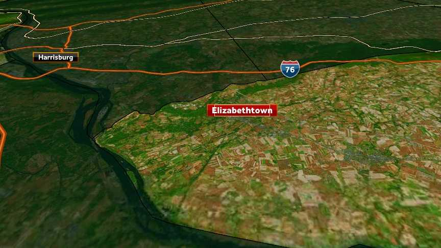 PennDOT expects fix to median hit by car on Route 283