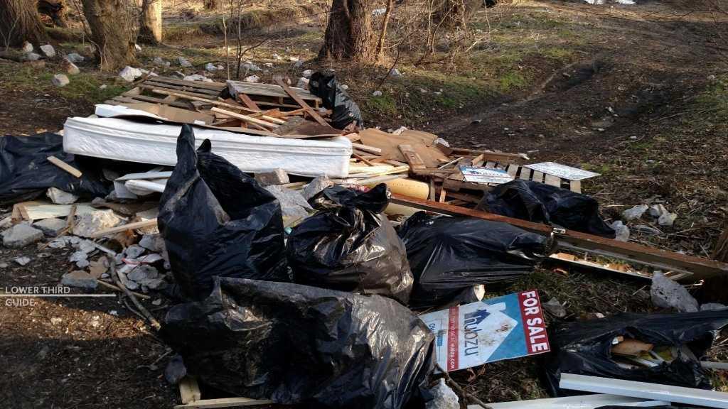 Police in York investigating Illegal trash dumping