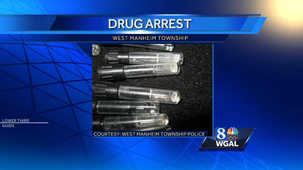 Police make drug arrest in West Manheim Township