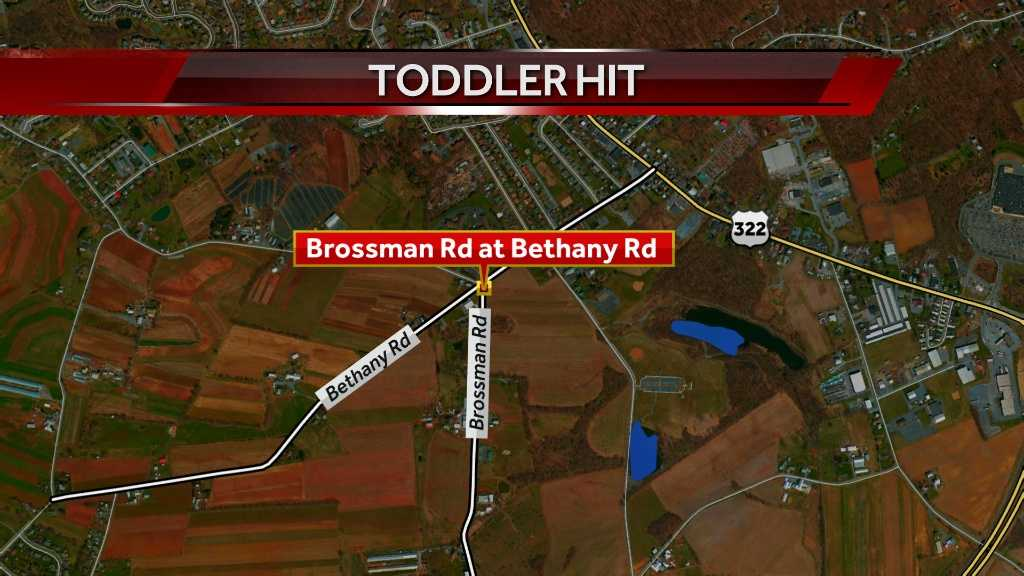 Child struck by farm tractor in Lancaster County