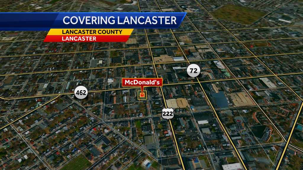 Lancaster man pleads guilty to shooting in McDonald's