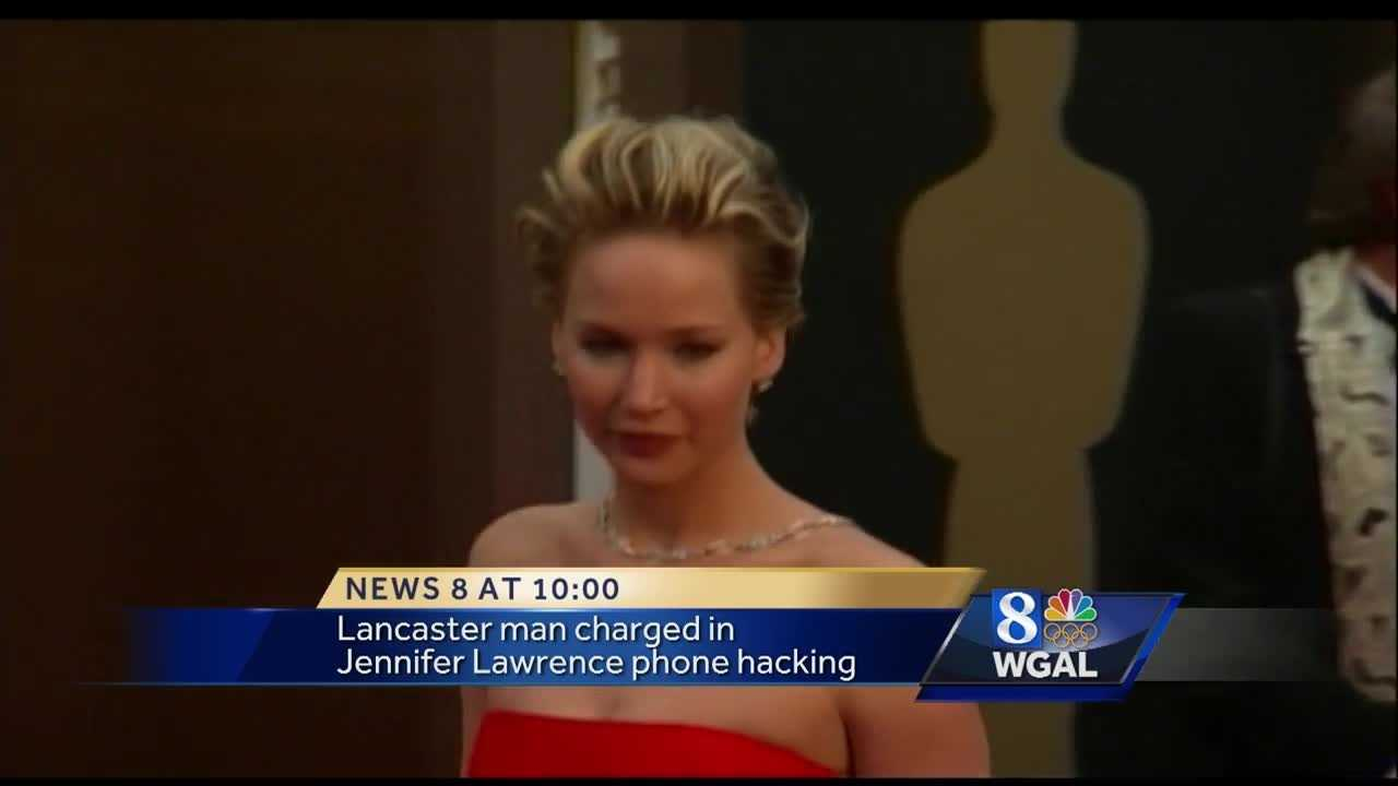 Lancaster man charged in Jennifer Lawrence hacking scandal