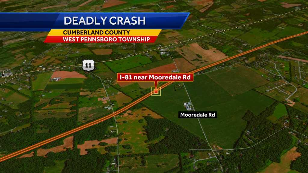 Coroner identifies victim of deadly I-81 crash
