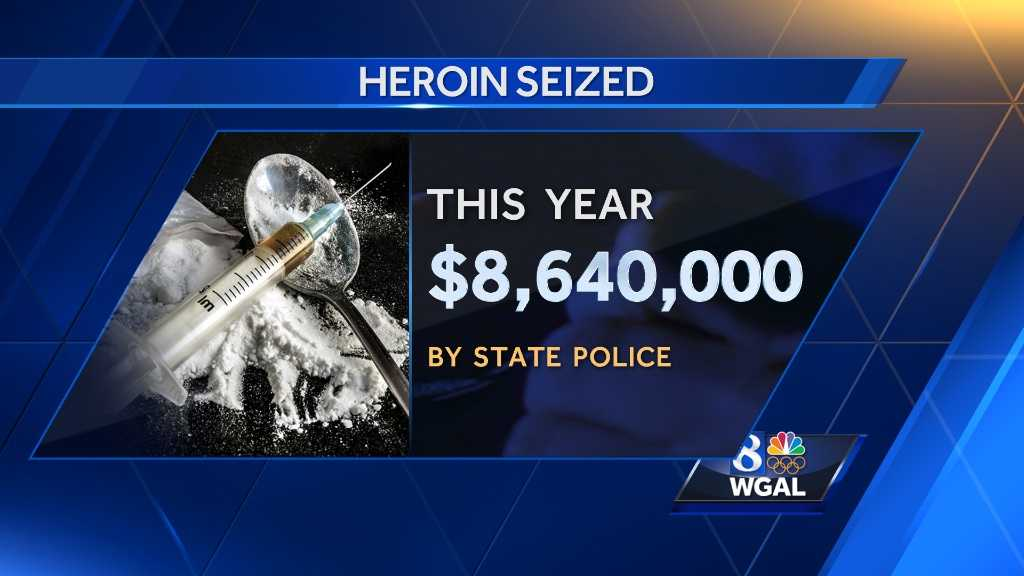 New numbers show heroin epidemic spreading in Pennsylvania