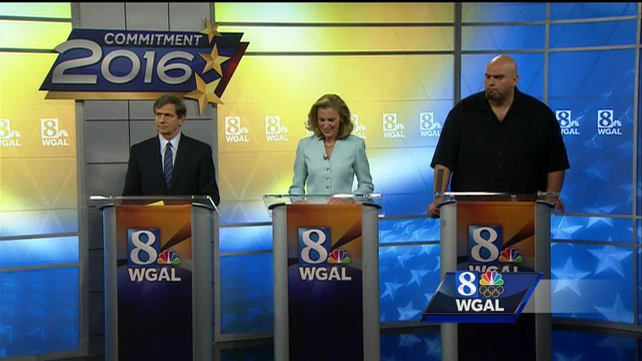 Breaking down Tuesday night's Democratic Senate primary debate