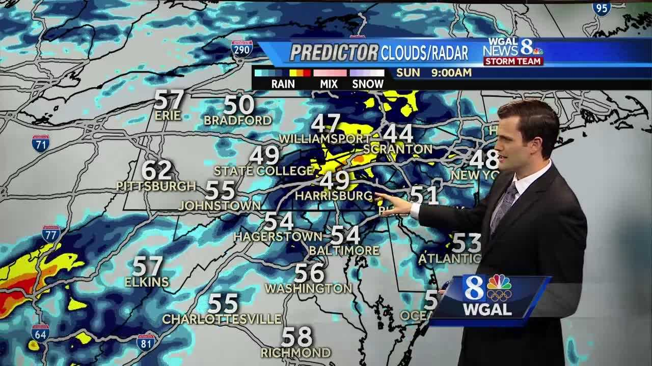 More rain arrives this later this weekend