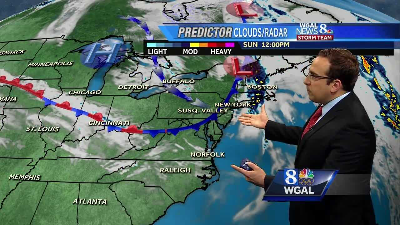 Mostly Sunny Mother's Day For The Susquehanna Valley