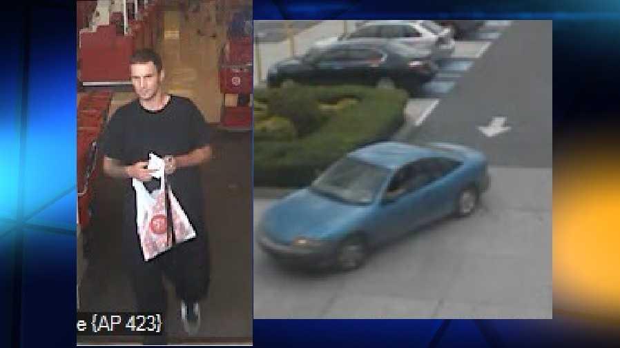 5.15.16 Cumberland Co, Suspect Car