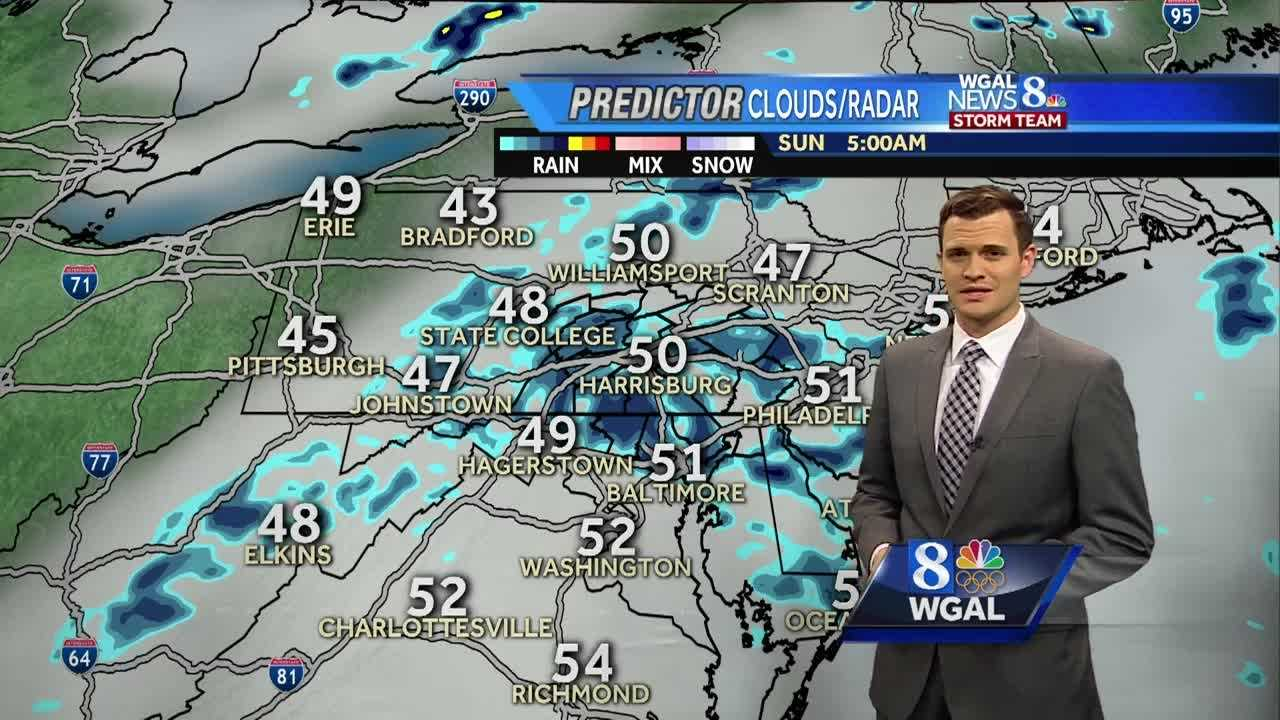 Rain and drizzle this weekend