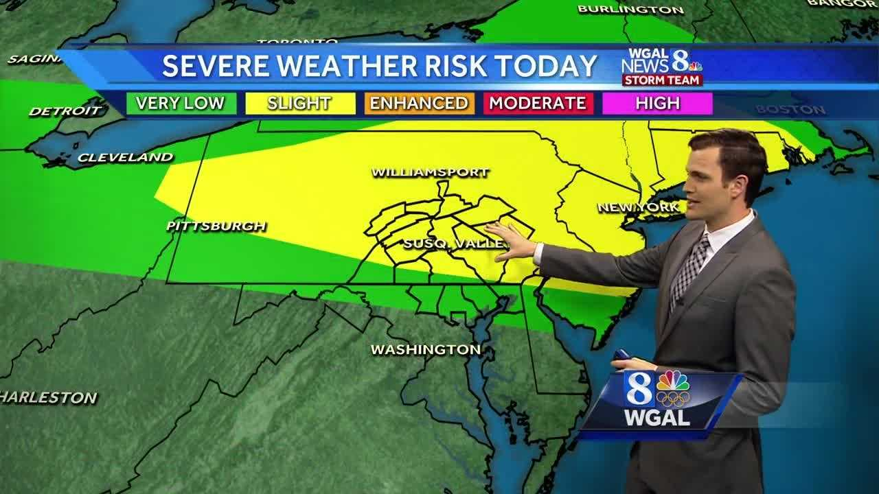 Severe thunderstorms are possible to start the weekend