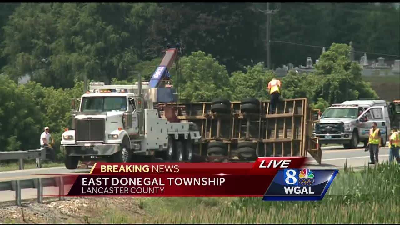 7.12.16 truck trailer crashes