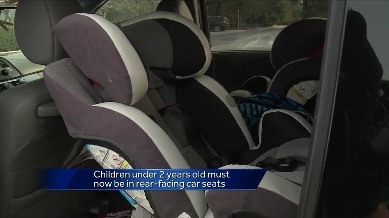 New Pa. law: Rear-facing car seats for kids under 2