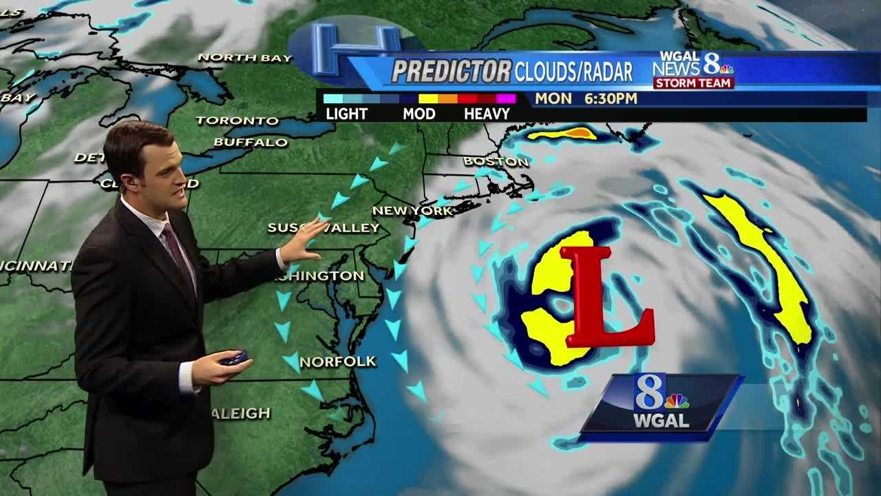 Hermine a near-miss for the Susquehanna Valley this holiday weekend