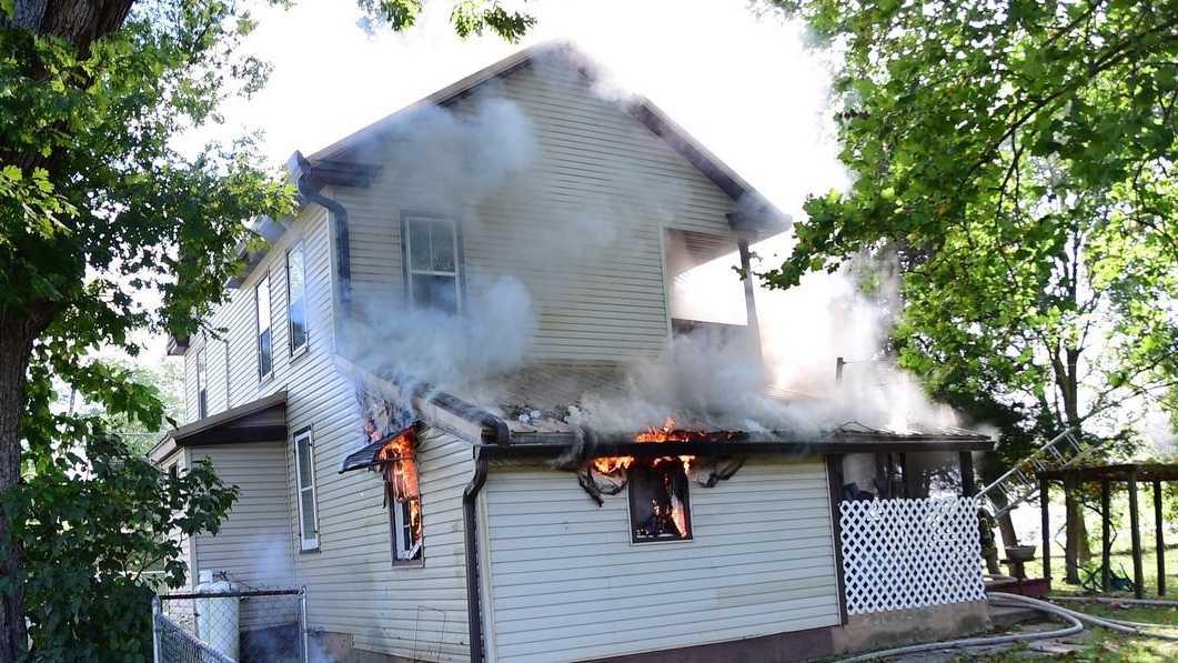 Adams Co Fire Flames