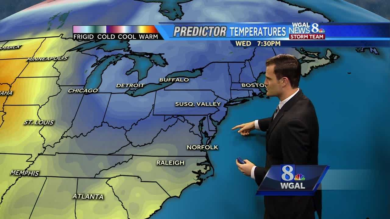 Fall-like weather expected this weekend