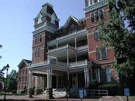 Ohio University is known as the most haunted college campus in the country. Many of the ghost stories stem from the former Athens Lunatic Asylum and the horrors that supposedly took place there.