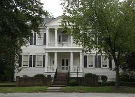 Fayetteville, N.C., is home to ghosts like The Lady in Black, who reportedly haunts the Sandford House.