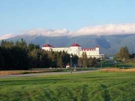 Room 314 of the Mount Washington Hotel in Bretton Woods, N.H., is supposedly haunted by the wife of the original owner.