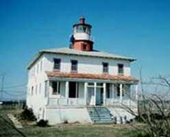 With paranormal activity documented over the centuries, the Point Lookout Lighthouse in Maryland has seen numerous shipwrecks and bodies washed ashore.