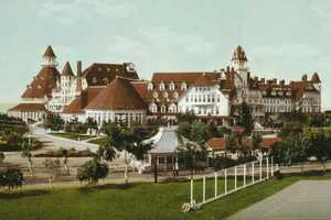 The Hotel del Coronado in California claims to be haunted by a young woman named Kate Morgan, who died there in 1892.