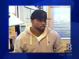 West Manchester Township police released this surveillance photo of a man suspected in a jewelry store robbery.