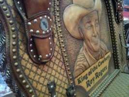 "It's a motley collection, including items from Roy Rogers. Former Mayor Stephen Reed acquired the items for a planned ""Wild West"" museum that was never built."
