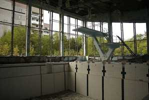 It was abandoned in 1986 after the Chernobyl disaster.