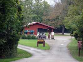 The campground opens on the second Friday in April and closes by the end of October.