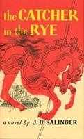 "2. The Catcher in the Rye by J.D. Salinger: Banned or challenged because the novel is ""anti-white"" and ""obscene."""