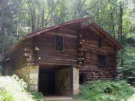 The Bordner cabin is located about 2.5 miles past the Waterville Bridge.