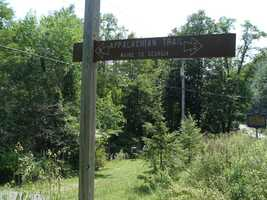 Two miles of the Appalachian Trail, which stretches from Georgia to Maine, go through the southern portion of park. Overnight parking for hikers is available on Route 443 just west of Route 72.