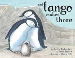 4. And Tango Makes Three by Justin Richardson/Peter Parnell: A children's book based on a true story about two male penguins who raised a baby penguin that was banned because it advocates homosexuality.