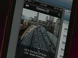PA Traffic Info let's you seen many of the PennDOT traffic cameras located on roads throughout the Commonwealth.