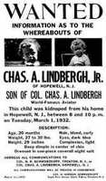 The kidnapping of Charles Augustus Lindbergh, Jr. -- dubbed at the Lindbergh Kidnapping -- was an investigation that lasted more than two years. The toddler was abducted at 20 months old from his home in New Jersey, and his body was discovered over two months later. Bruno Richard Hauptmann was arrested and charged with the crime, but he proclaimed his innocence to his death.