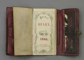 """In his diary, Wilkes Booth wrote the following of Lincoln's death: """"Our country owed all her troubles to him, and God simply made me the instrument of his punishment."""" His diary is on display at Ford's Theater in Washington, D.C."""