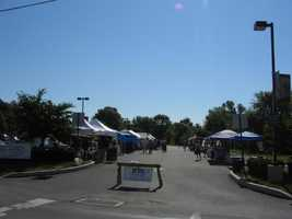 The Lititz Farmers Market along Water Street is open Saturdays 8 a.m. to noon from May to October.
