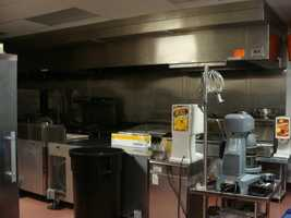 Catering for the suites is provided by professional chef Tiffany Eger.