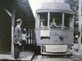 The Chambersburg and Gettysburg Electric Railway Company leased the park and made it a destination for their trolley line by building amusement rides and a dance pavilion.