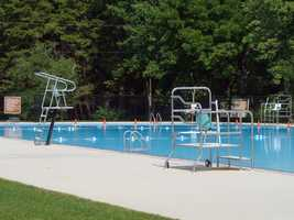 The park has a large, ADA accessible swimming pool with a small snack bar.
