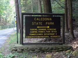 Caledonia State Park is located on the border of Adams and Franklin counties.