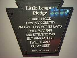 ... the Little League pledge.