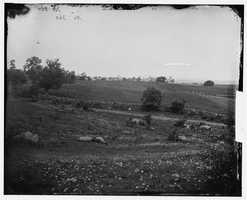 On day 2, the Confederates made an assault here at Culp's Hill. The assault was rebuffed.
