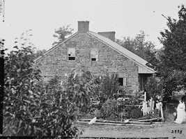Much of what happened during the three-day battle can be traced back to this building. This is where General Robert E. Lee set up his headquarters, which was along Chambersburg Pike in Gettysburg.