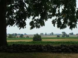 In 1863, Confederate troops charged across this field. The moment is known as Pickett's Charge. And one of the Confederates mortally wounded here is connected to an iconic American general who would find fame nearly 8 decades later. The Confederate soldier was named Walter Tazell Patton.