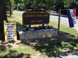 The group operates a gift shop and museum in the park.