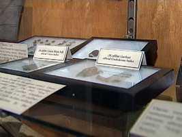Museum display.