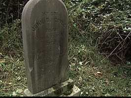"""""""The grave kind of speaks for itself. You know what's written on the front of it … it says, 'Mother don't weep for me, for I am not dead, only sleeping here.' It's pretty interesting … I think definitely, I feel that he is, he's probably sitting here, listening to us right now,"""" McDonald said."""